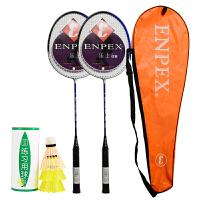 【部分商品每满400减50元】乐士(Enpex)羽毛球拍对拍 休闲娱乐情侣羽拍S280 赠羽毛球