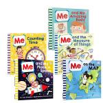 吴敏兰推荐书单 Me on the Map and My系列科普读物6册 3-6-8岁儿童百科童书英文原版绘本123