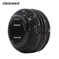 cleaneed 洁面仪 硅胶电动毛孔清洁去黑头美容按摩洗脸仪 钻石水晶闪耀系列高端款 黑天鹅