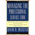 管理专业服务公司英文原版Managing The Professional Service Firm