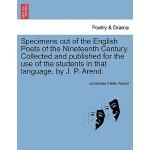 预订 Specimens Out of the English Poets of the Nineteenth Cen