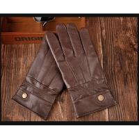 真皮手套骑行羊皮秋冬季加绒加厚保暖开车户外薄款男士女士皮手套