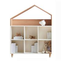 鑫宣美XM-G090儿童书柜异形矮六格柜