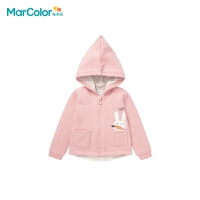 巴拉巴拉旗下马卡乐童装冬新品男女童造型可爱时尚休闲保暖上衣外套
