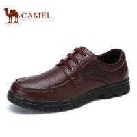 camel骆驼男鞋 商务休闲鞋舒适男士皮鞋 春季新品男士皮鞋
