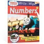 【顺丰包邮】进口英文原版 可擦写:托马斯和朋友们系列Thomas Wipe & Write Numbers 数字书 低