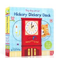 【顺丰速运】英文原版 sing along with me Hickory Dickory Dock小老鼠上灯台 欧美
