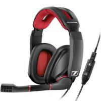 森海塞尔(Sennheiser)GSP 350专业游戏线控耳机 黑色