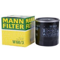 曼牌/MANN FILTER 机油滤清器 W68/3 新威驰 1.3/1.6 (08-13)