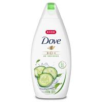 【每满100减50】多芬(Dove)沐浴露 清透水润 清爽水润沐浴乳200g 黄瓜+绿茶