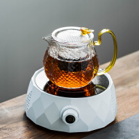 家用小型��岵�t玻璃蒸煮茶���水泡茶�t�С樗�