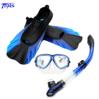 TOPIS 近视潜水镜 全干式呼吸管 浮浅装备 浮潜三宝套装