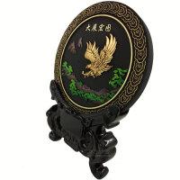 炭雕工艺品  办公室商务摆件 桌面摆设鹰 会议礼品摆件6-016