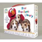 【预订】Elmo's World: First Flap-Book Library (Sesame Street)