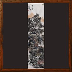 《泉鸣山秋》高松2-江苏美协会员,中国美院毕业