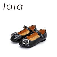 【159元任选2双】他她tata童鞋女童皮鞋时尚单鞋公主春秋中大童