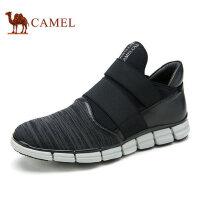 camel骆驼男鞋秋季新品 优质牛皮潮流运动时尚男休闲鞋板鞋