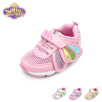 【119元任选2双】迪士尼Disney童鞋儿童宝宝鞋男童鞋女童春夏防滑运动鞋(2-5岁可选)FS0429