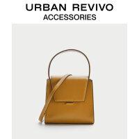 【当当超品价:191元】URBAN REVIVO2020冬季新品女士配件时尚简约手提包AA40TB1N2000