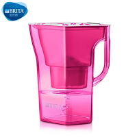 【当当自营】碧然德(BRITA) 过滤净水器 家用滤水壶 净水壶 限量  Navelia2.3L 玫红色 1壶1芯
