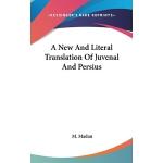 预订 A New And Literal Translation Of Juvenal And Persius [IS