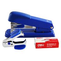 得力(deli)0359订书机金属钢质耐用办公订书机套装(订书机+订书钉+起钉器)12号钉