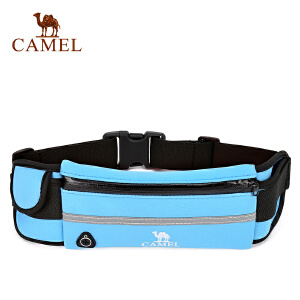 【每满200减100】camel骆驼户外腰包 男女款多功能腰包跑步运动旅游腰包