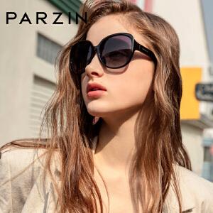 帕森偏光太阳镜 女士复古大框修脸潮墨镜开车驾驶镜