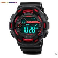 户外运动男士电子手表倒计时双时间多功能防水男学生腕表