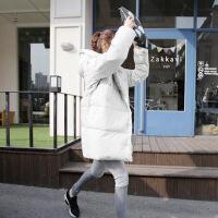 新款羽绒服韩版时尚修身百搭中长款羽绒服女潮