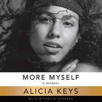 英文原版 Alicia Keys自传 枪姐艾丽西亚・凯斯 精装回忆录 More Myself: A Journey
