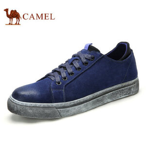 camel骆驼男鞋 秋季新品 时尚流行滑板鞋小脏鞋休闲鞋男系带鞋