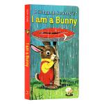 【送音频】I Am a Bunny 我是一只兔子 Little Golden Book 英文原版 低幼童纸板书 早教启