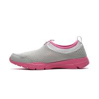 361度女鞋正品网跑步鞋夏季新款一脚蹬透气轻便运动网鞋581624423