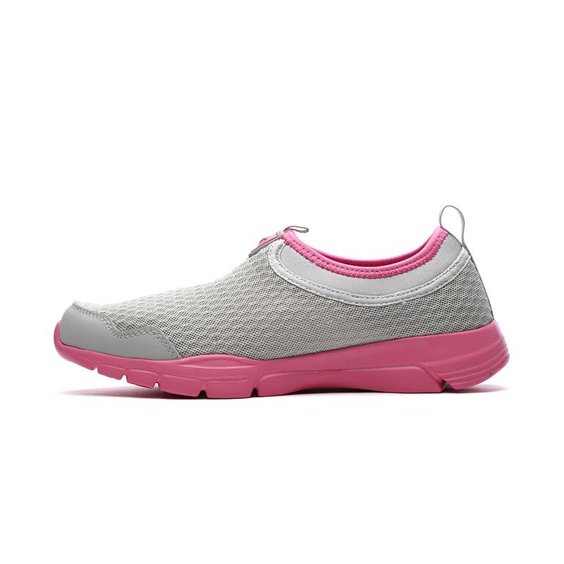 361度女鞋正品网跑步鞋秋季新款一脚蹬透气轻便运动网鞋581624423