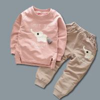 4男宝宝秋装套装0-1-2-3周岁男童两件套长袖婴儿童装秋季衣服潮款2018QJTZ0006