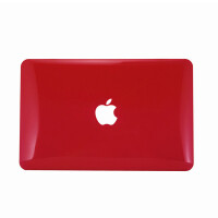 ikodoo爱酷多 Macbook Air 13.3英寸 苹果笔记本保护壳 水晶壳 透红