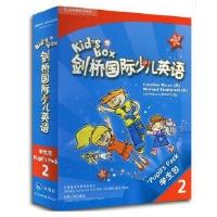 剑桥国际少儿英语2 Kid's Box 学生包2 点读版第二级册 幼儿园英语教材