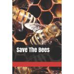 预订 Save The Bees: Notebook Blank Lined Journal [ISBN:978109