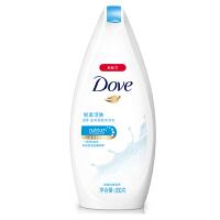 多芬(Dove)沐浴露 轻柔活肤 滋养美肤沐浴乳200g 超微按摩柔球