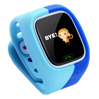 儿童智能电话插卡手表 能打电话学生小孩GPS定位 生活防水 自由触摸 微信对讲
