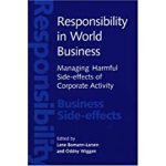 预订 Responsibility in World Business: Managing Harmful Side-