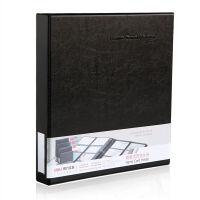 得力(deli)5797 活页名片册(容量480张) 黑色 1本装