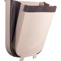 厨房垃圾桶家用挂式可折叠壁挂厨余分类客厅卫生车载可伸缩收纳篮