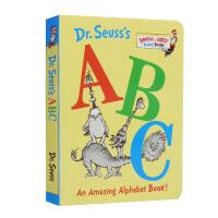 #Dr.Seuss's ABC 苏斯博士的ABC 英文原版绘本 廖彩杏推荐书单 词汇入门 低幼适龄版 幼儿英语启蒙认知读