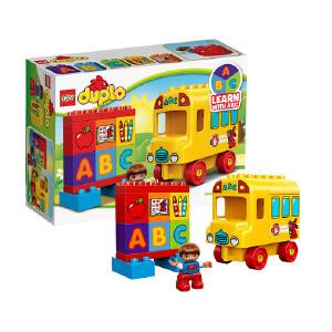 [当当自营]LEGO 乐高 duplo得宝系列 我的第一辆巴士 积木拼插儿童益智玩具 10603