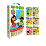 Around the World Ready to Read L2 周边世界6册礼盒装 儿童启蒙阅读绘本 六大国家地理