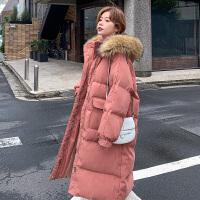 秋冬季大肚子加厚孕后期韩版宽松棉袄女孕妇冬装棉衣外套