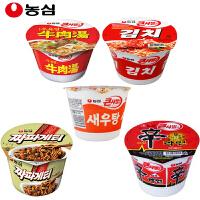 韩国进口 农心 辣白菜 虾汤 辛拉面 牛肉汤 炸酱面 组合