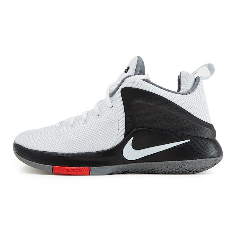 Nike耐克  男子ZOOM气垫詹姆斯运动篮球鞋  884277-100  现男子ZOOM气垫詹姆斯运动篮球鞋